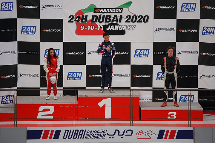Pizzi on Dubai's podium